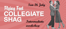Collegiate Shag intermediate workshop