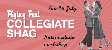 Collegiate Shag intermediate workshop