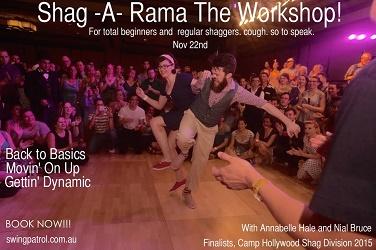 Shag-a-rama workshop